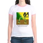 Yellow Green Jr. Ringer T-Shirt
