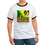 Yellow Green Ringer T