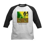 Yellow Green Kids Baseball Jersey