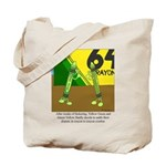 Yellow Green Tote Bag