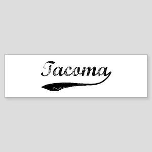 Vintage Tacoma Bumper Sticker