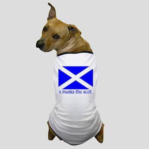 X Marks the Scot Dog T-Shirt