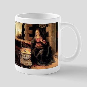Da Vinci's Annunciation Mug