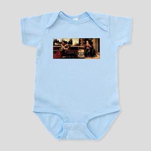 Da Vinci's Annunciation Infant Bodysuit
