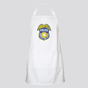 Police Protect and Serve Badge Apron