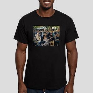 Renoir's Dance at Le moulin d Men's Fitted T-Shirt
