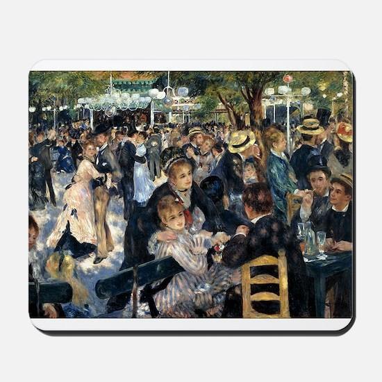 Renoir's Dance at Le moulin d Mousepad