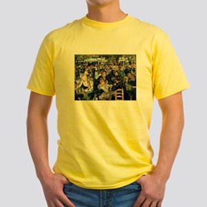 Renoir's Dance at Le moulin d Yellow T-Shirt