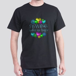 Sewing Happiness Dark T-Shirt