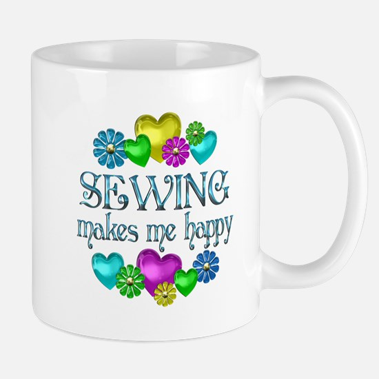 Sewing Happiness Mug