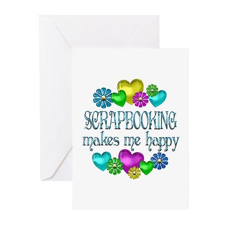 Scrapbooking Greeting Cards (Pk of 20)