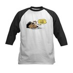 bob on the edge Kids Baseball Jersey