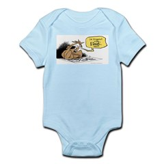 bob on the edge Infant Bodysuit