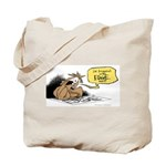 bob on the edge Tote Bag