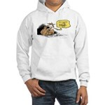 bob on the edge Hooded Sweatshirt