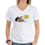 bob on the edge Women's V-Neck T-Shirt