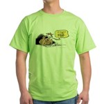 bob on the edge Green T-Shirt