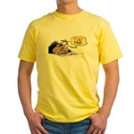 bob on the edge Yellow T-Shirt