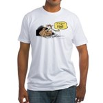 bob on the edge Fitted T-Shirt
