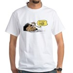 bob on the edge White T-Shirt