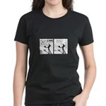 Actor Requesting A Line Women's Dark T-Shirt