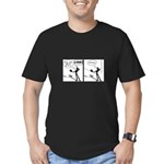 Actor Requesting A Line Men's Fitted T-Shirt (dark