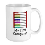 My First Computer Large Mug