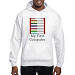 My First Computer Hooded Sweatshirt