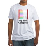 My First Computer Fitted T-Shirt