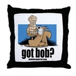 got bob Throw Pillow