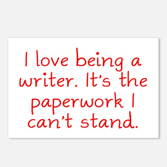 Being a Writer Postcards (Package of 8)