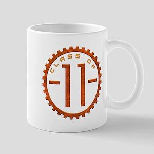 """Class of 11"" Gear Mug"