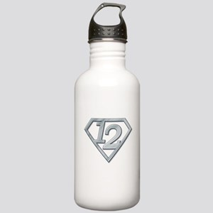 12 Superman Stainless Water Bottle 1.0L