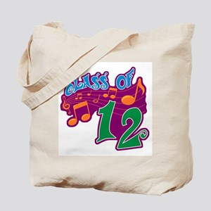 Class of 12 Musical Tote Bag