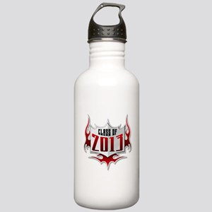Class of 13 Flames Stainless Water Bottle 1.0L