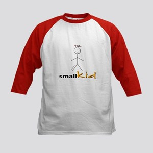 Big Kid Small Kid Kids Baseball Jersey