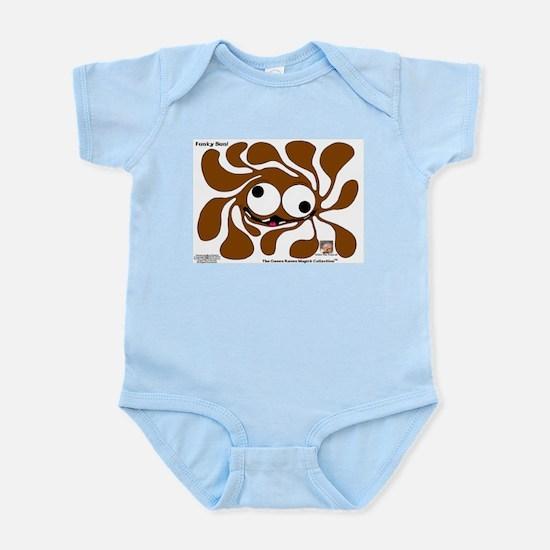 Funky Sun! In Chocolate Infant Bodysuit