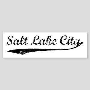 Vintage Salt Lake City Bumper Sticker