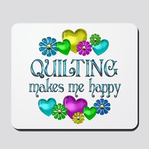 Quilting Happiness Mousepad