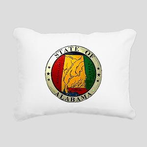 Alabama Seal Rectangular Canvas Pillow