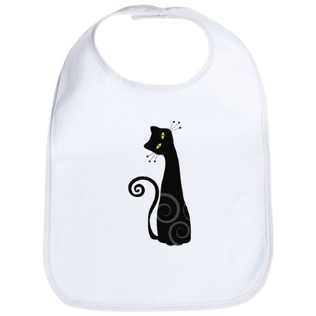Whimsical Cat Bib