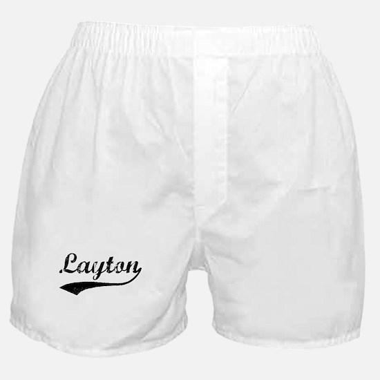 Vintage Layton Boxer Shorts