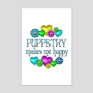 Puppetry Happiness Mini Poster Print