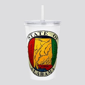 Alabama Seal Acrylic Double-wall Tumbler