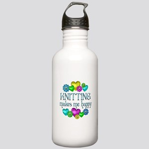Knitting Happiness Stainless Water Bottle 1.0L