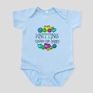 Knitting Happiness Infant Bodysuit