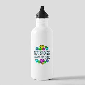 Karaoke Happiness Stainless Water Bottle 1.0L