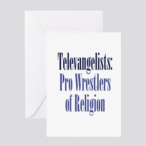 Pro-Wrestler of Religion Greeting Card