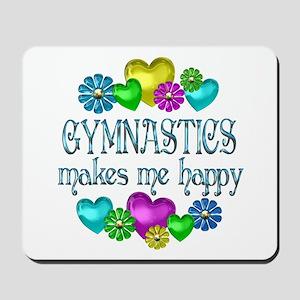 Gymnastics Happiness Mousepad