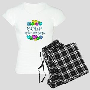 Golf Happiness Women's Light Pajamas